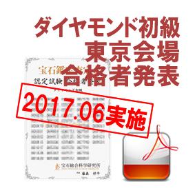 育成講座ダイヤ初級-201706東京